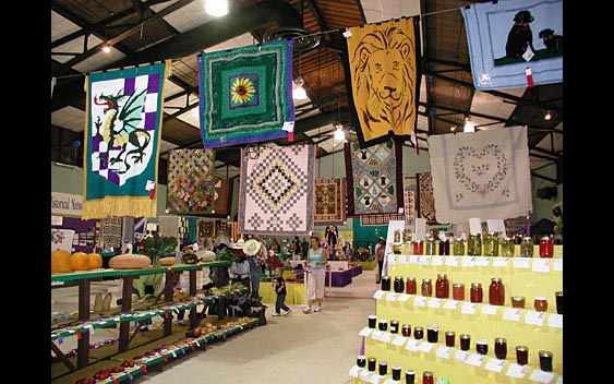 From quilts, to jams, to vegetables - there's an exhibit category for everyone! Lake County Fair, Lakeport
